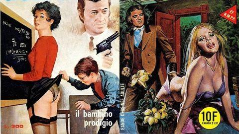 Ezekre az erotikus képregényekre gerjedtek a 80-as években