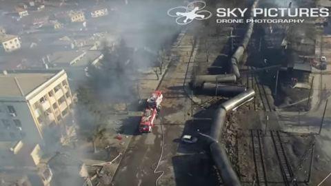 Megrázó videó a bolgár vonatkatasztrófáról
