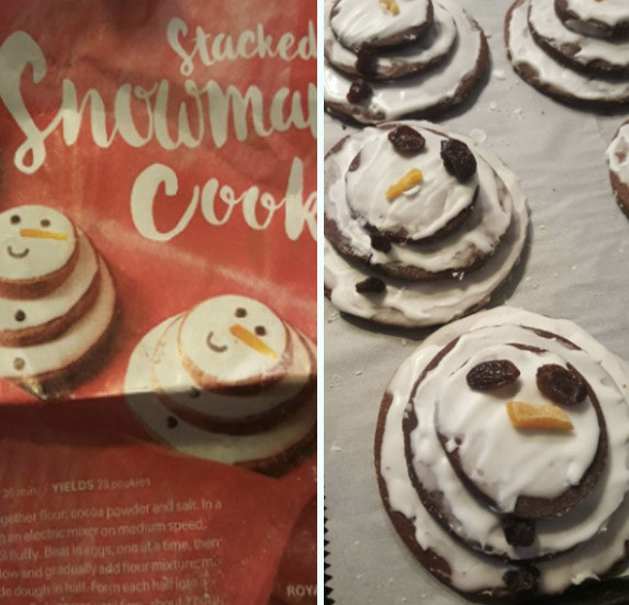 Nagyon elrontott karácsonyi sütik, amiktől garantáltan nevetni fogsz