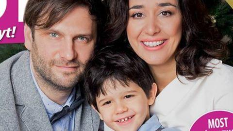 Először mutatja meg a fiát Gryllus Dorka és Simon Kornél