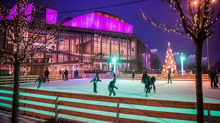 Jég, zene, élmény – karácsonyi hangulat a Müpánál