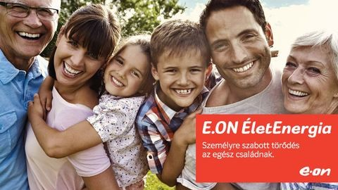Gondoskodjon családja egészségéről az E.ON ÉletEnergiával
