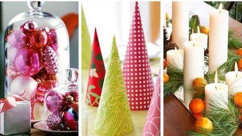8 egyszerű karácsonyi asztaldísz az utolsó pillanatra