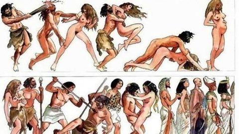 Íme, az emberiség történelme szexképeken