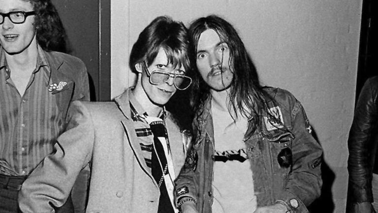 David Bowie és Lemmy Kilmister ebben a formában sosem találkoztak (Fotó: Urbanlegends.hu)