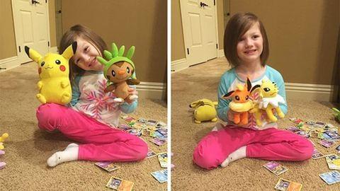 Alvó anyukája ujjlenyomatával vásárolt magának a leleményes kislány