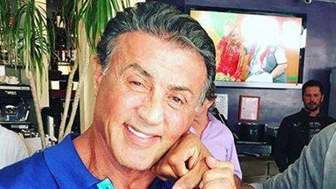 Sylvester Stallone Donald Trumppal smúzol
