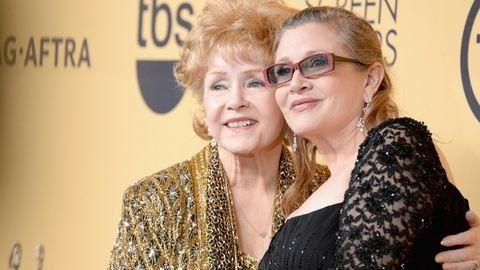 Carrie Fishert együtt temetik az édesanyjával