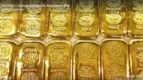 12 aranyrudat csempészett a végbelében