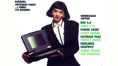 Így néztek ki a 80-as, 90-es évek jugoszláv számítógépes újságjának címlaplányai
