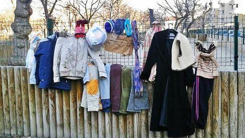 Szabadfogas: ingyen elvihető kabátok lepték el az országot