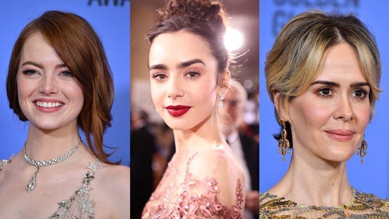 A legszebb és legcikibb sminkek és frizurák a Golden Globe-gáláról