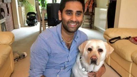 Vakvezető kutyára szerelt kamera mutatja meg, hogy bánunk sérült embertársainkkal