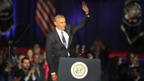 Barack Obama érzelmes búcsúbeszédet mondott, hasonlóan búcsúznak tőle a sztárok