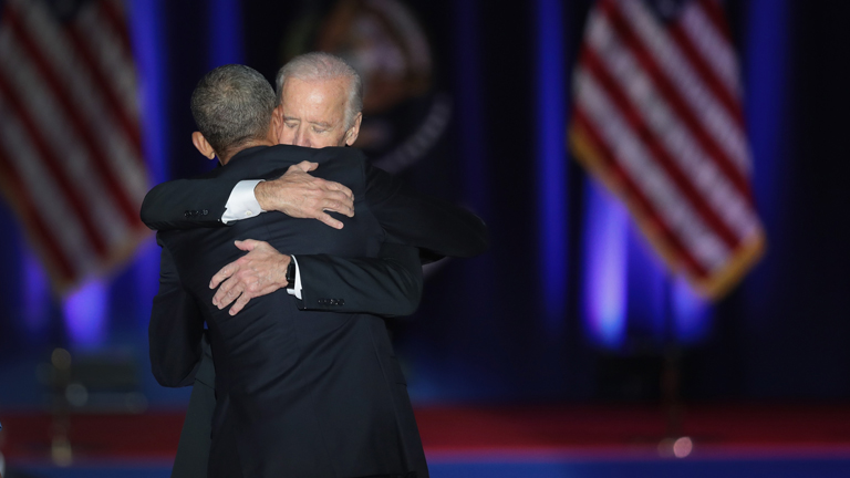 Obama azt is mondta, Joe Biden alelnök személyében