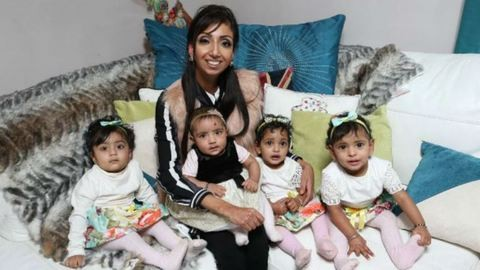 9 hónap alatt négyszeres anyuka lett a nő, aki azt hitte, sosem lehet gyermeke