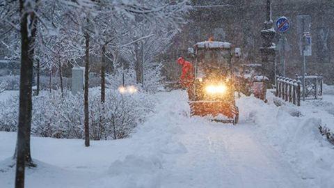 A Kékestetőn már 40 centis a hó