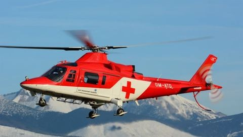 Helikopter vitte kórházba a leforrázott kisfiút