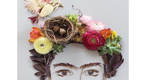 Virágokból alkot csodás képeket a művész – fotók