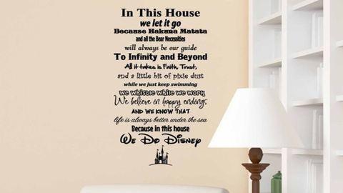Mesés, Disney ihlette dekorációk az otthonodba