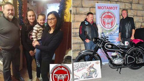Motorosárvákon segít egy magyar házaspár és a barátaik