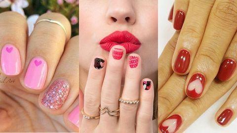 20 tipp, milyen körmöt csináltass Valentin-napra