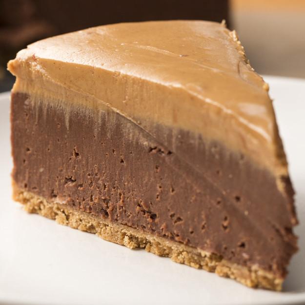 Ellenállhatatlan csokis-mogyoróvajas sajttorta