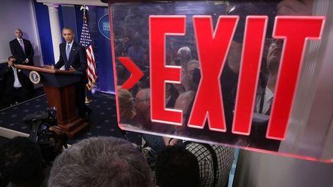 """""""Rendben leszünk"""" – Obama megtartotta utolsó sajtótájékoztatóját"""