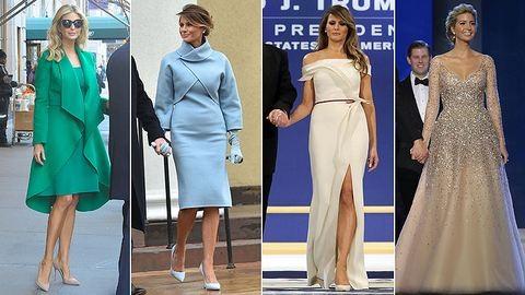 Melania Trump Beyoncénak és Jackie Kennedynek öltözött a beiktatásra