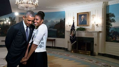Barack és Michelle Obama szerelme képekben