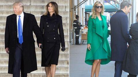 Kisebbségi tervező ruhájában jelent meg Melania Trump a férje beiktatásán