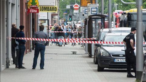 Időzített bombát találhattak egy szlovák gyógyszertár előtt