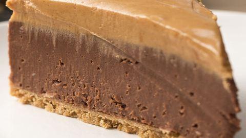 Sütés nélküli csokis-mogyoróvajas torta