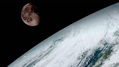 Ennyire lélegzetelállító a Föld 35 ezer kilométerről