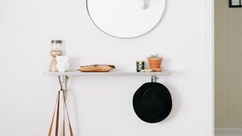 9 szuper előszoba-inspiráció, ami kis lakásokban is működik
