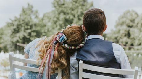 Az esküvő után a lakodalmat is megtartották az ovisok