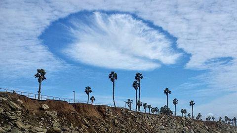 Ufószerű felhő fenyegette Kaliforniát