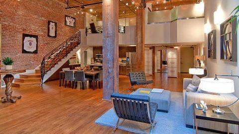 Loft lakások modern stílusban