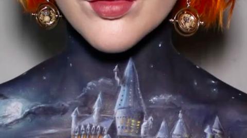 Ez a Harry Potter ihlette testfestés varázslatosabb még Roxfortnál is! – videó