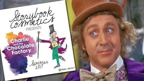 Willy Wonka világa sminkpalettaként tér vissza