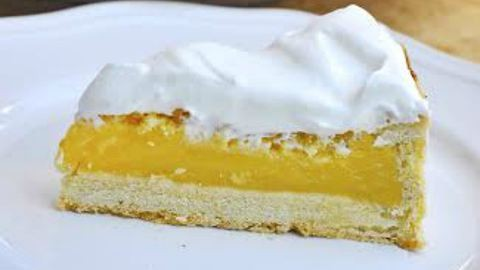 A hétvége kedvenc sütije, a citrompite