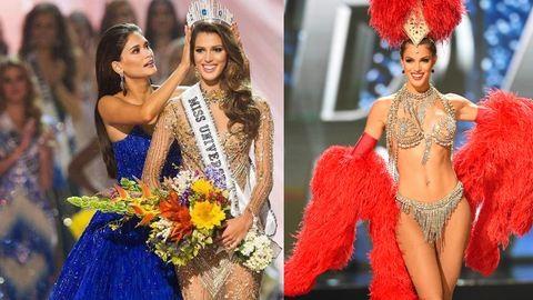 Vadító képek: ő a Miss Universe győztese, Iris Mittenaere