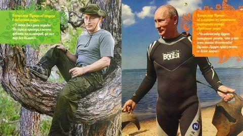 Putyin egész évben velünk lehet ezzel a csodálatos naptárral