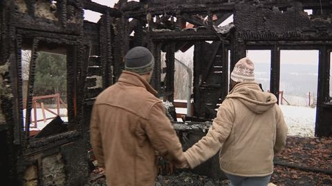 Leégett az ingyennyaralást kínáló házaspár otthona