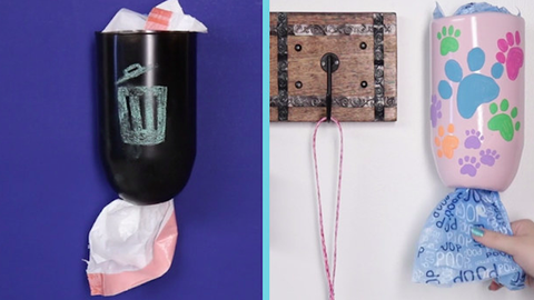 DIY: műanyag palackból praktikus zacskóadagoló