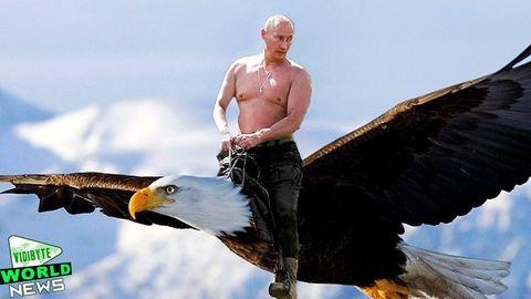 Putyin gépe még földet sem ért, de már dübörög a magyar mémgépezet