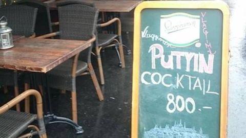 Putyin budapesti látogatására rendeljetek Putyin-koktélt