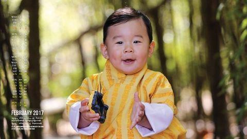Bhután kis hercege még György hercegnél is cukibb!