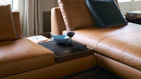 Súlyos design a nappaliban
