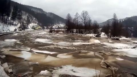 Intenzíven áradnak a folyók Észak-Magyarországon